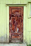 Wheathered door