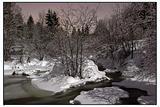 Moonscape, river