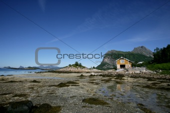 Grøtøya i Nordland