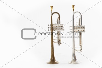 A couple of trumpets