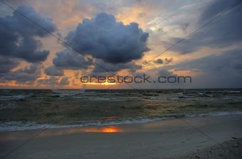Beach Sunset 1 Delnor Wiggins Pass