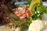 Crayfish sandwich
