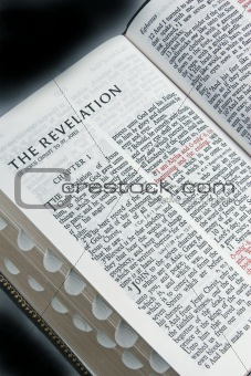 Bible Open To Revelations