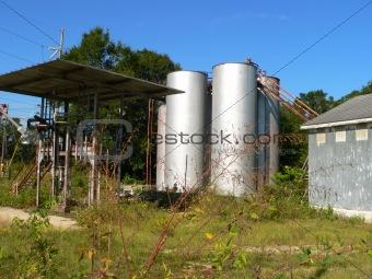 old grain depot