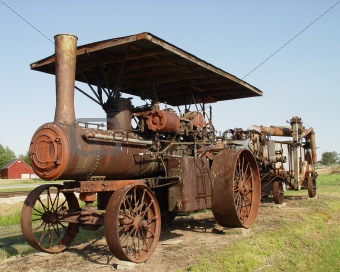 Antique Farm Tractor