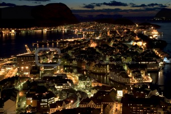 Aalesund By Night II