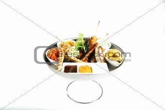Food plateau
