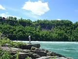 Edge of the rapids