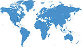 World map (vector)