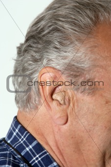 old man ear apperatus