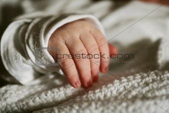 Babys hand