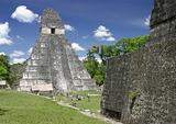 Jaguar Temple, Tikal, Guatemala