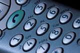 Telephone keypad detail