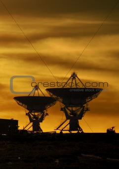 VLA Sunset