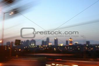 City at Night - Istanbul