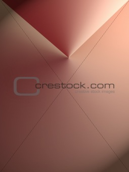 Abstract four-corner background