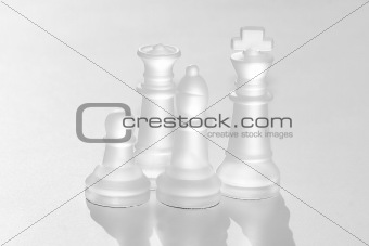 Crystal Chess Peices