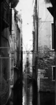 Old lady Venice