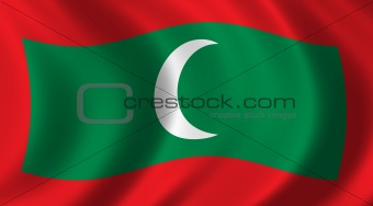 Flag of Maledives