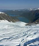 Glacier and fiord