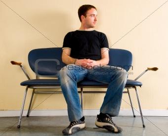 Sitting, waiting...