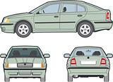 4 door car