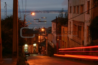 Night Scene in Chile