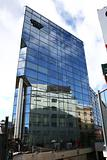 Reflecting building
