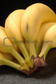 Banana close-up