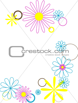 Circles and Flowers