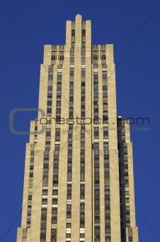 Top of the rockefeller building