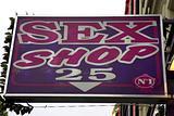 Porno shop sign