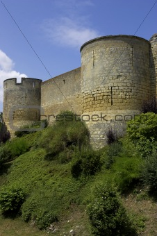 Castle walls montreuil-bellay