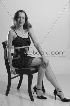 Amanda sitting