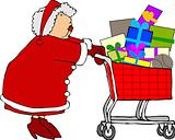 Mrs Claus shopping