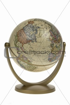 Single world globe