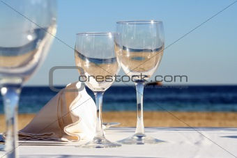 A glass of Sea, Sand  and Sun