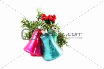 Old style Christmas bells