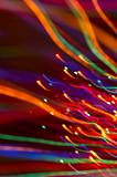 abstract background: colored light motion blurs #7