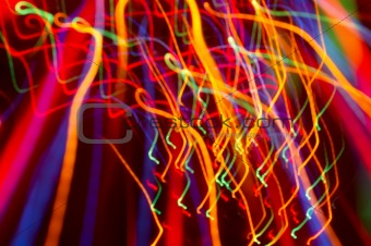 abstract background: colored light motion blurs #13