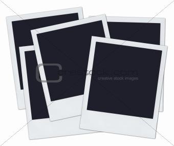 5 Polaroids