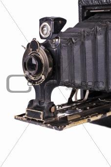 Antique folding camera