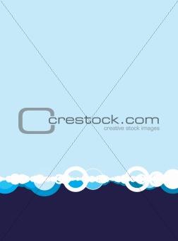 blue base white out