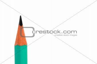 Tip of pencil