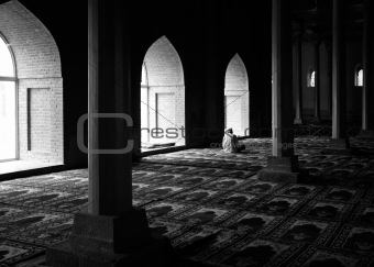 Praying in a Mosque