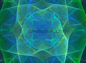 Abstract silky design