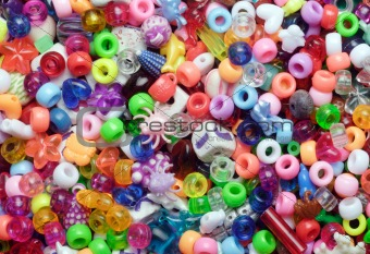 beads, multicoloured