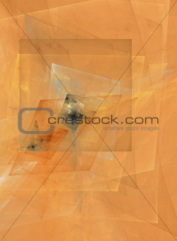 Abstract cubist design