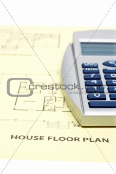 House floor plan and calculator