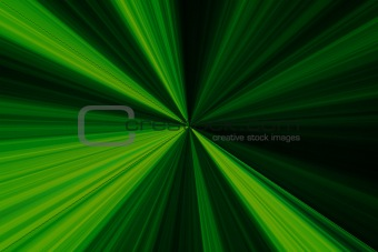 greenish radioactive background